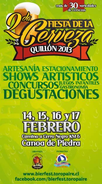 Fiesta de la Cerveza Quillón 2013