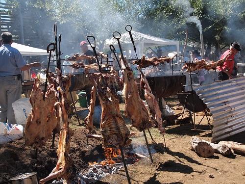 Asado de Chivo más grande del sur de Chile
