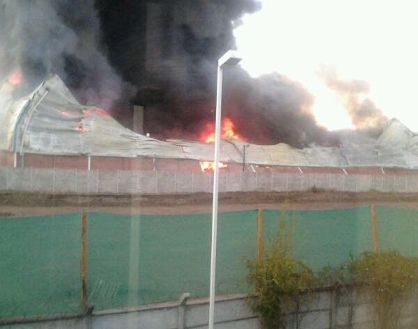 Incendio empresa Huechuraba | Carlos Carvajal Miranda