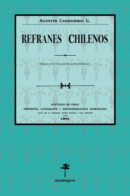 Portada refranes chilenos