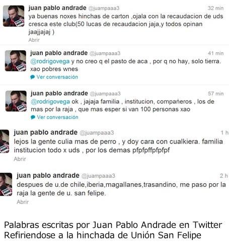 Italo Valdivia en Twitter | @ItaloValdivia