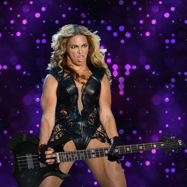 Beyoncé guitarrista