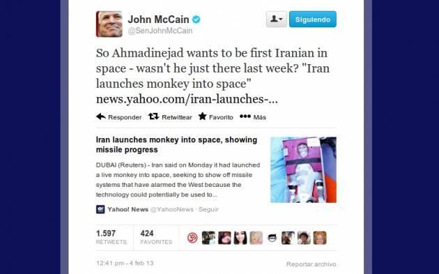 John McCain en Twitter
