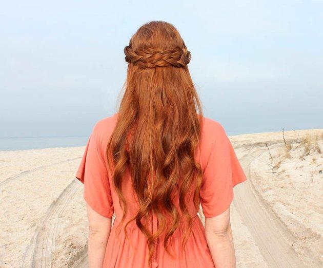 Trenzas y pelo largo | Pinterest