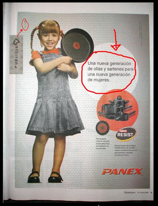 Publicidad de Panex en 2008