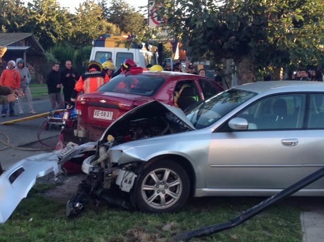 Accidente en Villarrica | Adan Flores