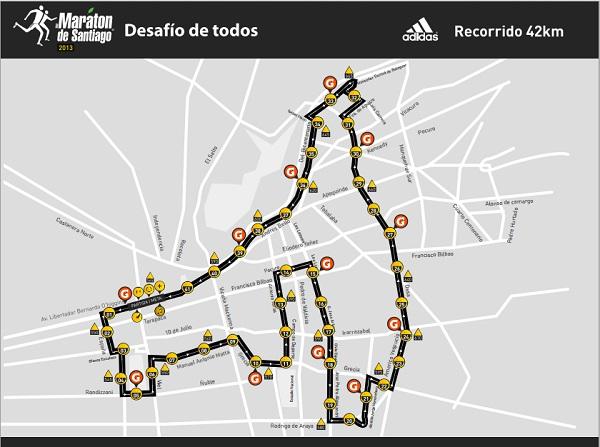 Maratón de Santiago Adidas 2013