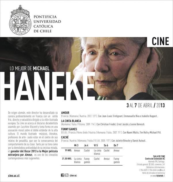 Ciclo de cine UC | Michael Haneke
