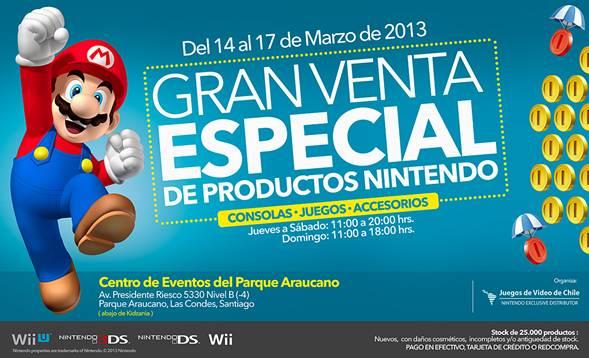 Venta Especial Nintendo Chile