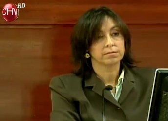 Jueza Valeria Echeverría | Chilevisión