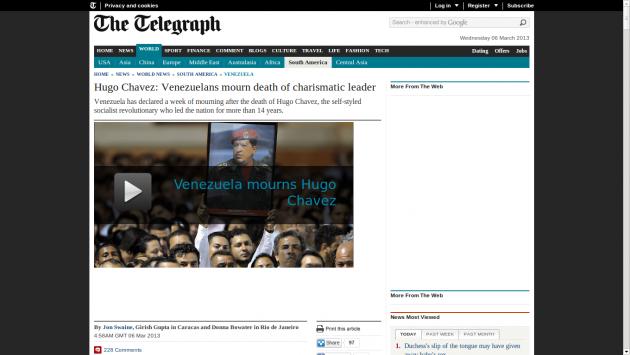 Telegraph | Inglaterra