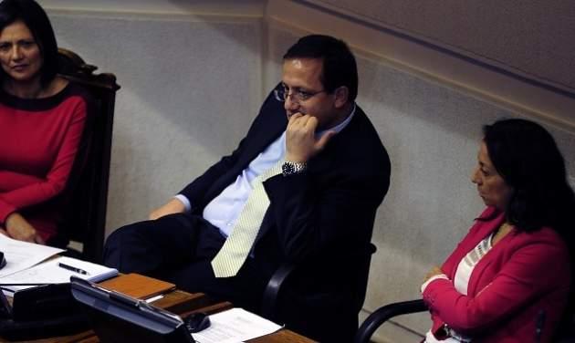 El suspendido ministro Beyer | Pablo Ovalle/AgenciaUNO