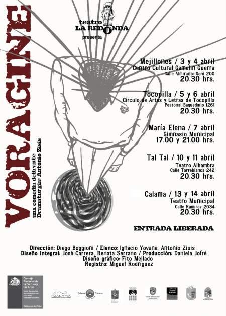 Afiche Vorágine