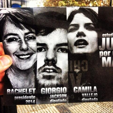 Afiche en cuestión | @GiorgioJackson
