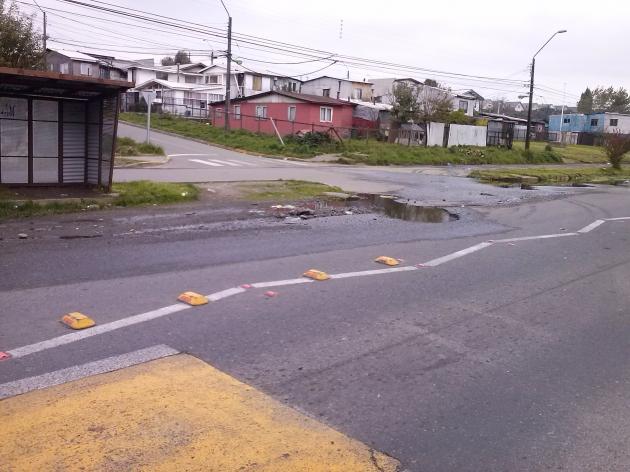 Peligro en Avenida Presidente Ibañez | Juan Alberto Ojeda H.