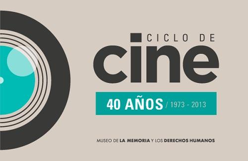 Ciclo de cine 40 años