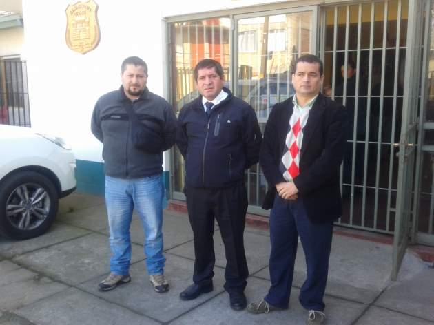 Dirigentes Anfup   Luis Vergara (RBB)