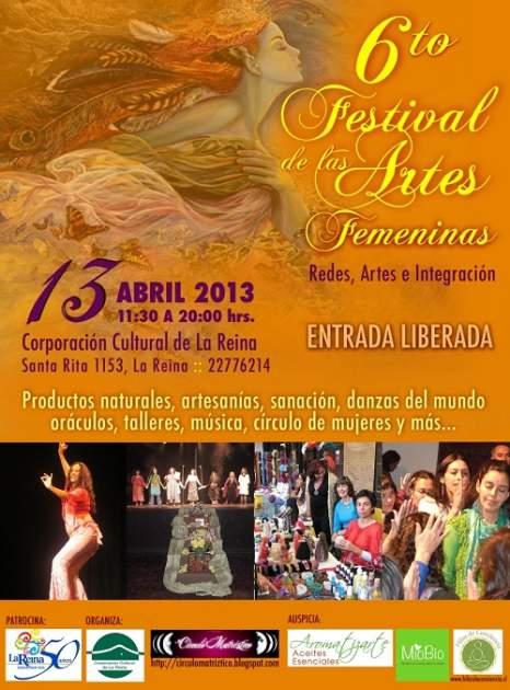 FESTIVAL DE LAS ARTES FEMENINA