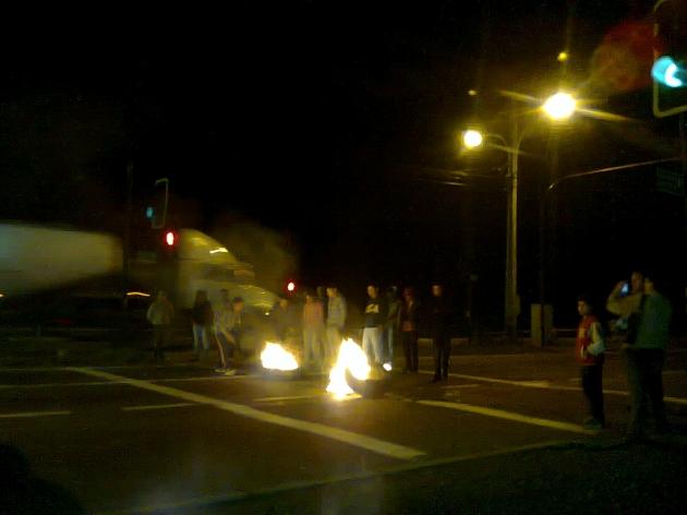 Manifestación ciudadana por una Estación de Biotren   | Camila Guzmán