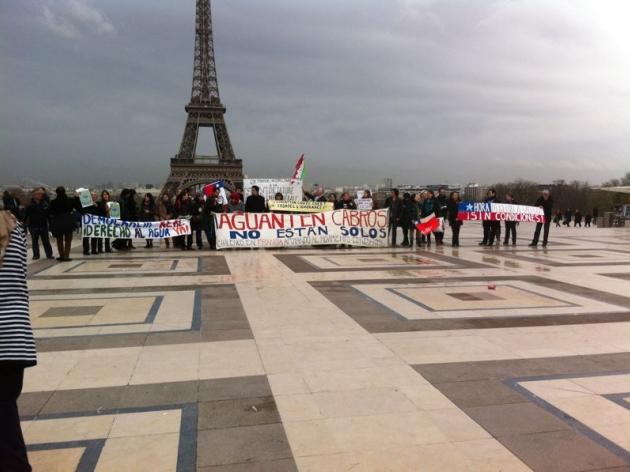 Desde París por una Educación Pública, Gratuita y de Calidad | Estudiante