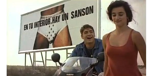 Penélope Cruz y Javier Bardem en Jamón jamón