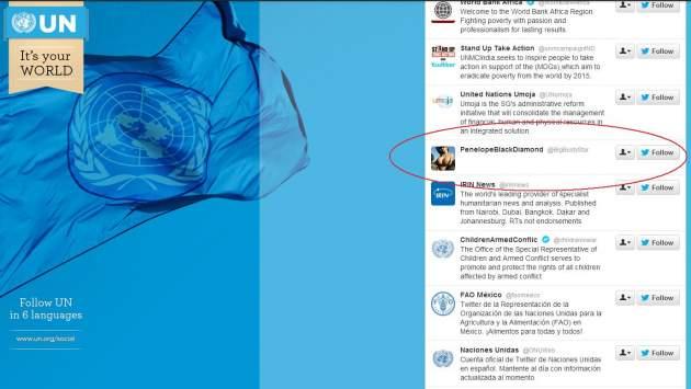 @UN en Twitter | Vista en news.naij.com