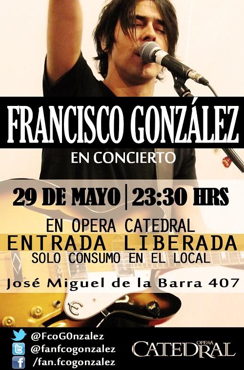 Francisco González en Concierto