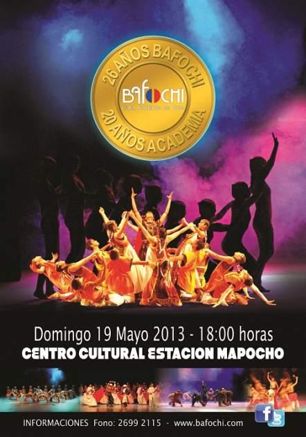 Afiche Bafochi Aniversario 2013