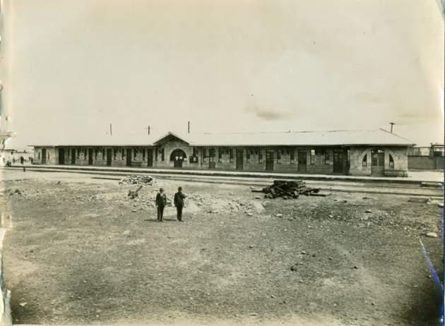 Estación en 1928 | Ministerio de Relaciones Exteriores de Chile