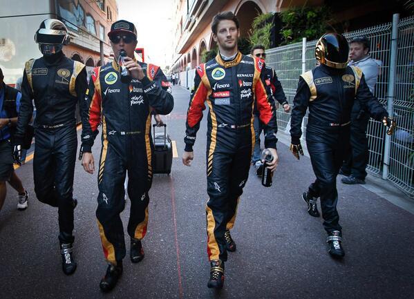 Lotus F1 Team en Twitter