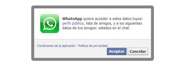 Falsa aplicación de WhatsApp