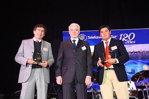 Premiación Automotriz Antumalal y Kupfer Hnos.