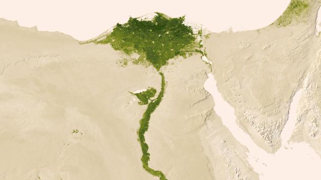El Delta del Nilo   NASA/NOAA