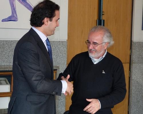 Tomás Poveda Ortega y Arturo Navarro Ceardi
