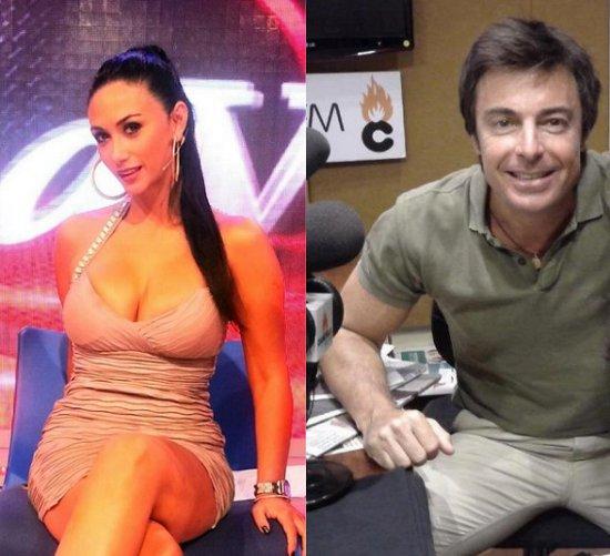 Pamela Díaz y Giancarlo Petaccia