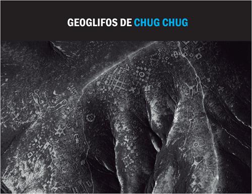 Vista aérea de Geoglifos Chug chug