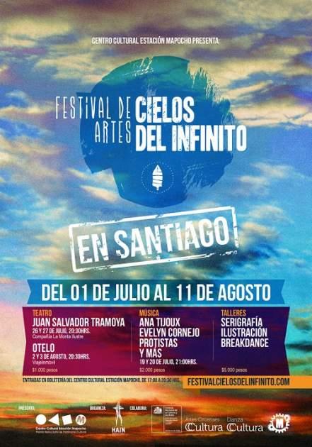 Festival Cielos del Infinito en Santiago