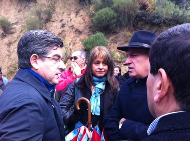 Alcalde Castro, J. van Rysselberghe y diputado Bobadilla | Pedro Cid (RBB)