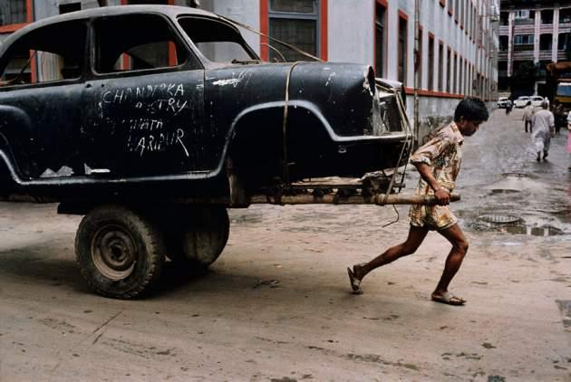 Steve McCurry en India