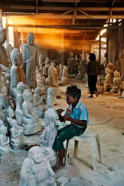 Steve McCurry en Myanmar