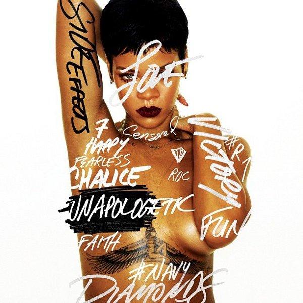 Carátula de Unapologetic   Rihanna