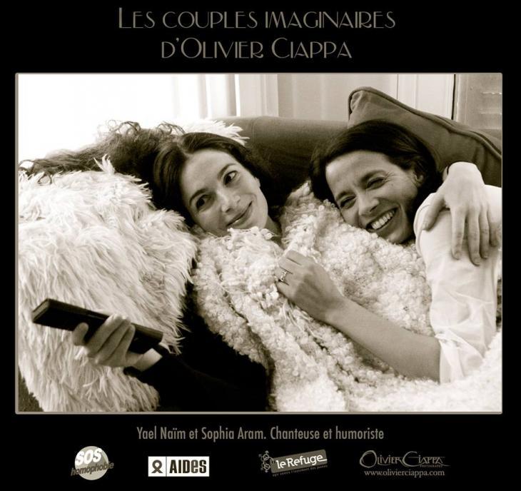 Cantante Yael Naim y humorista Sophia Aram | Olivier Ciappa