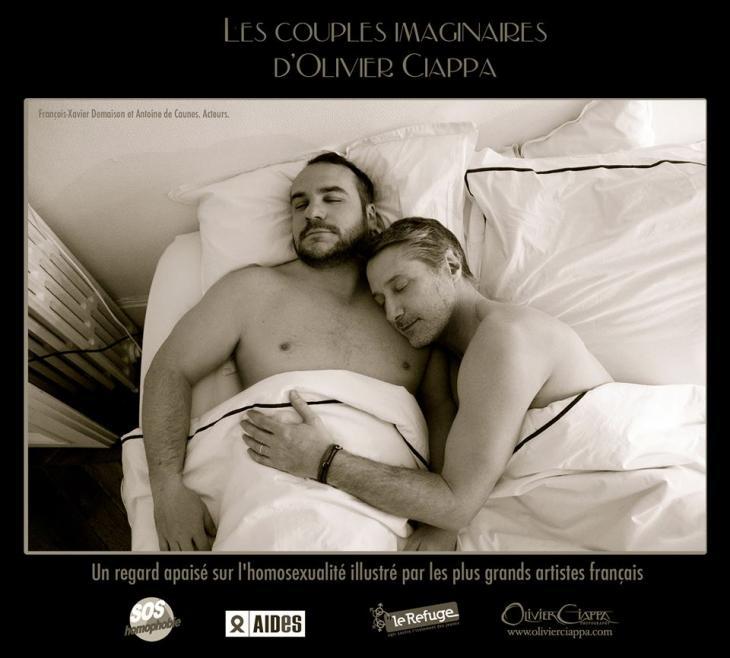 Actores franceses François-Xavier Demaison y Antoine Decaune | Olivier Ciappa