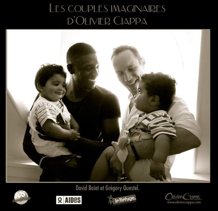 Actores franceses David Baïot y Grégory Questel | Olivier Ciappa