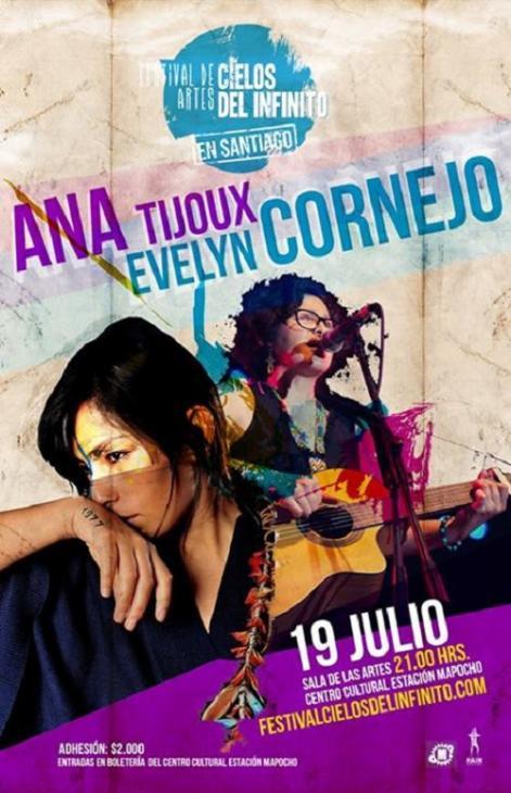 Evelyn Cornejo y Ana Tijoux
