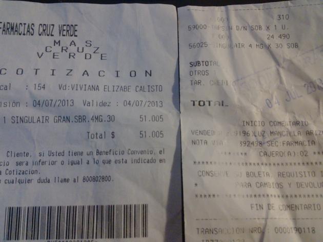 Abismante diferencia de precios del mismo medicamentos entre dos locales comerciales | manuel diaz