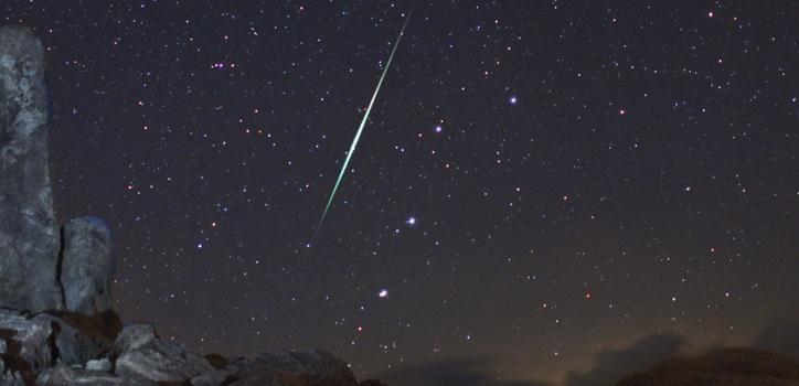 Meteoro de una lluvia anterior | NASA