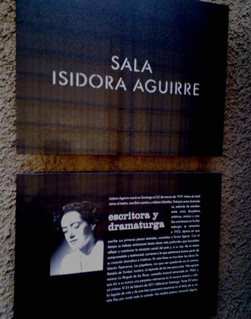 Sala Isidora Aguirre