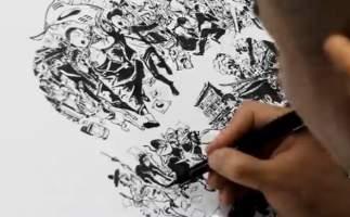 Talento de dibujante coreano deja boquiabiertos a cibernautas