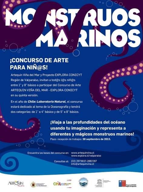 Afiche concurso explora 2013